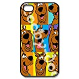 Vcapk Popular Humorous Movie Scooby-Doo Crazy Adventure iPhone 4,4S Hard Plastic Phone Case
