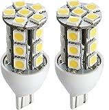 2 x Gold Stars 92111803-02 LED Replacement Light Bulb 921/T15 Wedge base 190 Lumens 12v or 24v Natural White Sale