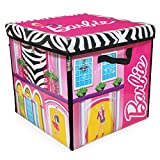 Neat Oh Barbie ZipBin Dream House Toybox and Playmat