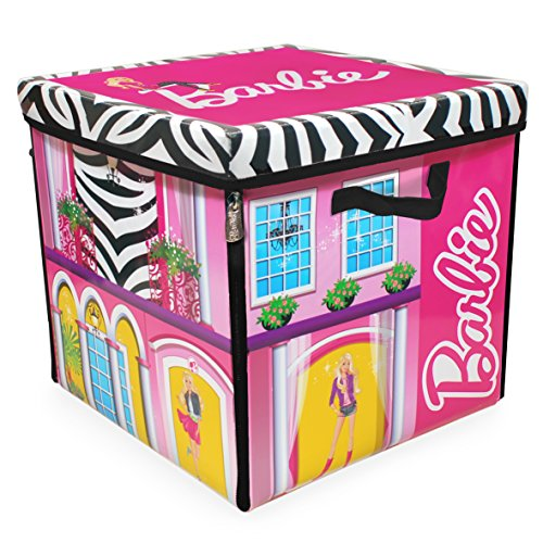 Neat-Oh-Barbie-ZipBin-40-Doll-Dream-House-Toy-Box-Playmat