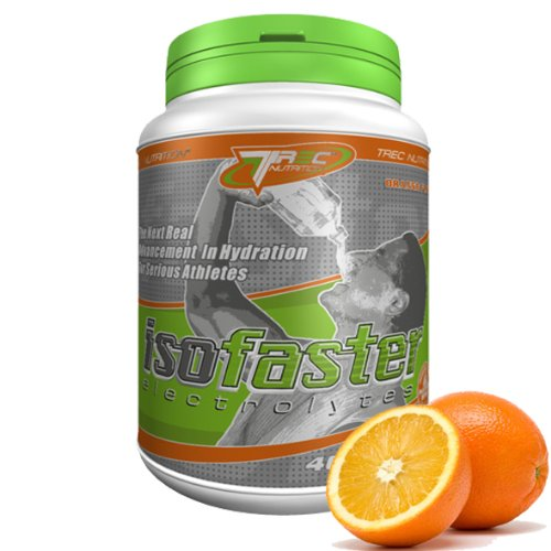 ISOFASTER BEST ENERGY DRINK x 400g - Orange (For Runners, Cyclists & Endurance Athletes)