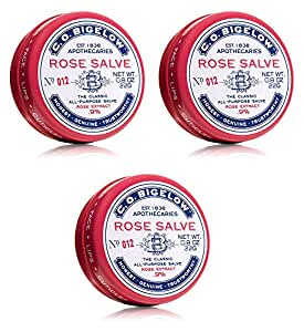 C.O. Bigelow's famous Rose Salve has been a favorite since the early days, due to its ability to care for lips and beautify skin. Emulsified with extra-soothing rose extract, to help ease irritation and condition the skin. May be used on lips, face, cuticles, elbows, knees, chapped or very dry skin patches/5().