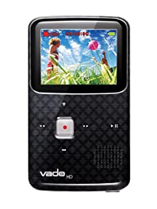 Creative Labs Vado HD Pocket Video Camcorder 3rd Generation,120 Minutes (Black) - NEWEST MODEL
