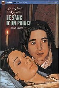 Le sang d'un prince par Laure Bazire