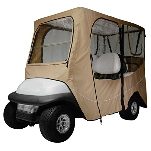fairway-golf-cart-deluxe-enclosure-short-roof-khaki