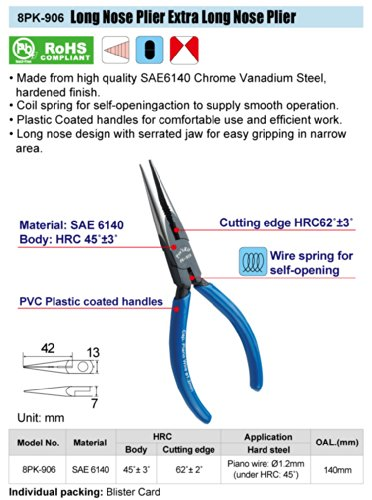 8PK-906-Long-Nose-Plier-(140mm)