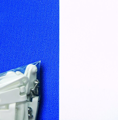 Toldo para estructura corredera Windhager, azul / blanco, 270 x 140cm