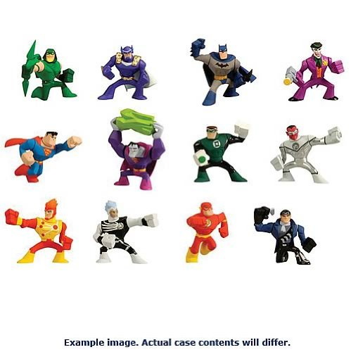 Buy Low Price Mattel DC Universe Action League 2-Pack Mini Figures Wave 3 Set (B004Z3ABLG)