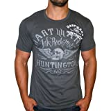 HART AND HUNTINGTON Vintage Moto Mens T-Shirt ~ Hart & Huntington