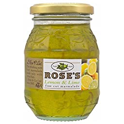 Rose\'s Lemon and Lime Marmalade 454g Jar