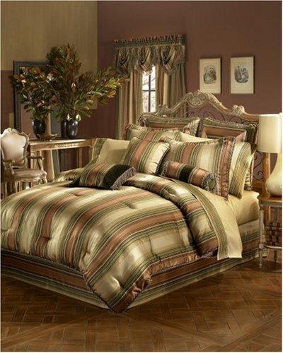 Croscill Carrington Stripe Comforter Set