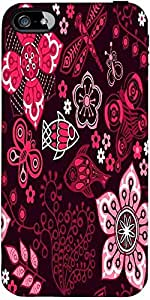 Snoogg Colorful Floral Seamless Pattern In Cartoon Style Seamless Pattern Des...