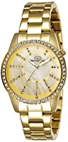 Gio Collection Analog Gold Dial Women's Watch - G2001-22