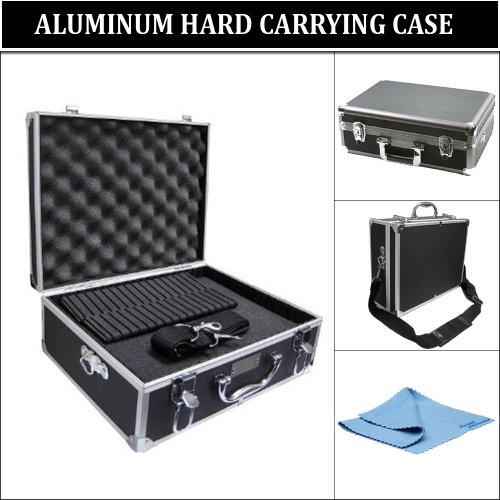 Pro Aluminum Hard Case for Nikon D3000, D5100, D5000, D40, D40x, D60, D70, D90, D300s, D700, D7000, D3100, D90s Digital SLR Cameras