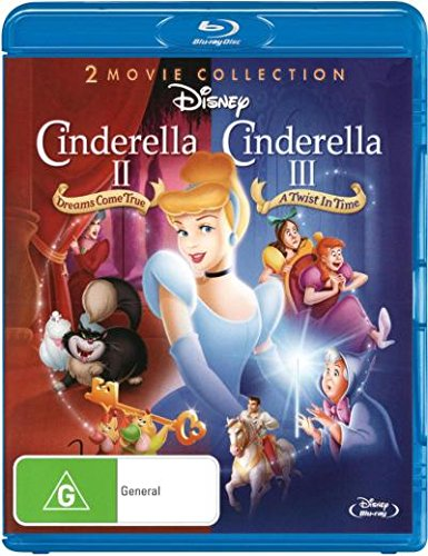 Cinderella 2 - Dreams Come True + Cinderella 3 - A Twist In Time [1 Disc] [Import - Australia]