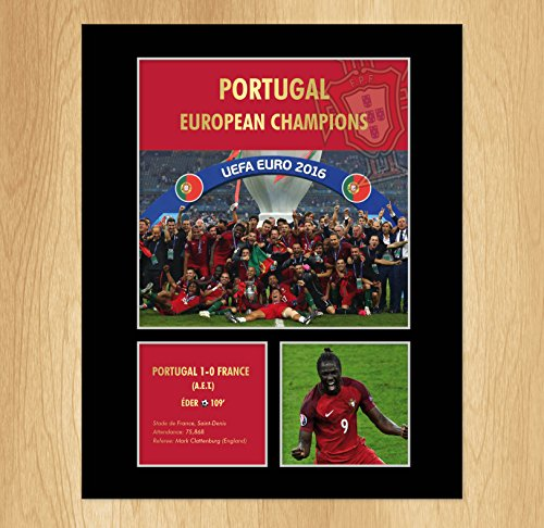 Portugal Euro 2016 Winners affichage photo montage