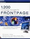 1200 Homepage Vorlagen f�r FrontPage