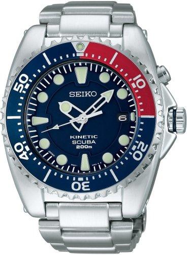 SEIKO (セイコー) 腕時計 PROSPEX プロスペックス ダイバースキューバ キネティック SBCZ013 メンズ