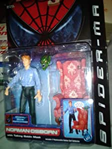 Spider-Man The Movie Norman Osborn with Talking Goblin Mask