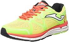JOMA SUPER CROSS - Zapatillas de running para hombre, color flúor, talla 44.5