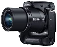 "Samsung WB2200F 16.3MP CMOS Smart WiFi & NFC Digital Camera with 60x Optical Zoom, 3.0"" LCD and 1080p HD Video (Black)"