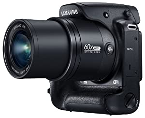 Samsung WB2200F 16.3MP CMOS Smart WiFi & NFC Digital Camera with 60x Optical  Zoom, 3.0