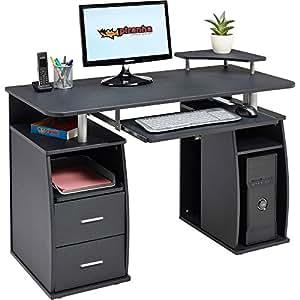 piranha pc5g bureau noir pour ordinateur fournitures de bureau. Black Bedroom Furniture Sets. Home Design Ideas