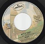 45vinylrecord Witch Hunt/Tom Sawyer (7