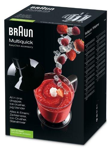 Braun mq40 b accessorio maxi tritatutto tritaghiaccio per - Mixer da cucina ad immersione ...