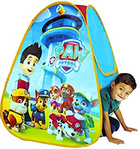 Chase Pre Qualify >> Amazon.com: Paw Patrol Play Tent ~ Marshall, Chase, Rubble ...