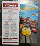 Disney's California Adventure Cars Land Grand Opening June 15, 2012 Map and Guide by Disneyland