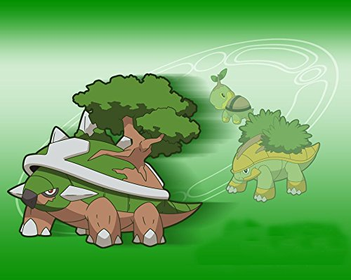 Pokemon-011-Waterproof-Plastic-Poster-Cartel-de-plstico-Impermeable-Anti-Fade-Puede-utilizar-en-el-exteriorJardnBao