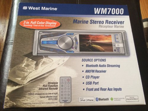 Marine Stereo Receiver