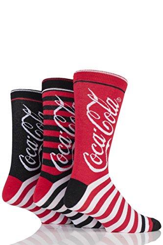 mens-3-paires-de-coca-cola-en-coton-raye-chaussettes-rouge-6-11-mens
