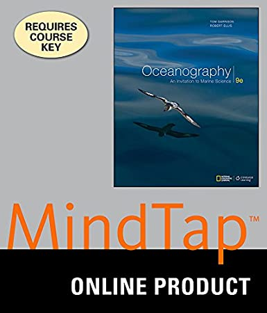 MindTap Oceanography for Garrison's Oceanography: An Invitation to Marine Science, 9th Edition