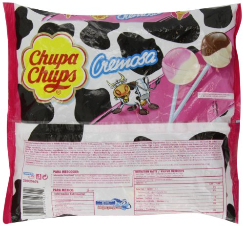Chupa Chups Lollipops - Ice-cream Flavor (40ct. Bag) Fat Free! lollipops эспадрильи