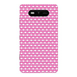 Skin4gadgets HEART Pattern 20 Phone Skin for LUMIA 820