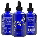 Eucalyptus Essential Oil - Big 4 Oz - 100% Pure & Natural Therapeutic Grade
