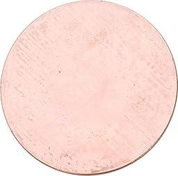Copper 24 Ga- 1.5in Circle- Pk/6 - MET-500.05