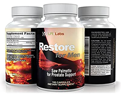 LFI Restore For Women - Your Doctor Recommended 100% All Natural Menopausal Solution. Promotes Beneficial Estrogen Metabolism to Balance Your Hormones & Make You Feel Good Again.