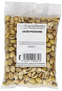 JustIngredients Salted Pistachios 250g (Pack of 2)