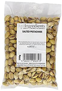 JustIngredients Essential Salted Pistachios 250g (Pack of 2)
