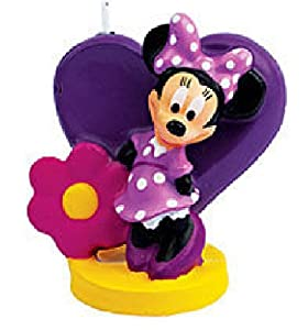 Minnie Mouse Birthday Cake Candle