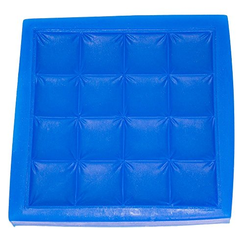 First Impression Molds B237 Quilted Baby Blanket Silicone Cake Decorating Mold, Small, Blue (Quilt Fondant Mold compare prices)