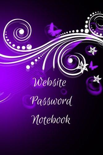 Website Password Notebook
