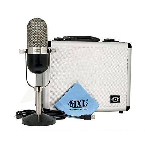 Mxl Usb-77 | Large Diaphragm Usb Cardioid Condenser Microphone Record Vocal