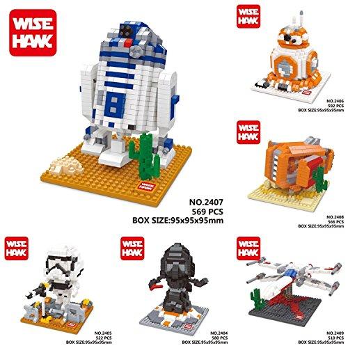 Star Wars BB-8 WISEHAWK Diamond Micro Building Blocks