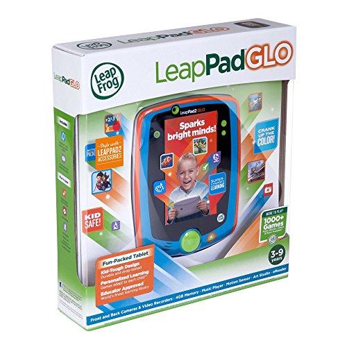 LeapFrog LeapPad Glo Kids Learning Tablet, Teal JungleDealsBlog.com