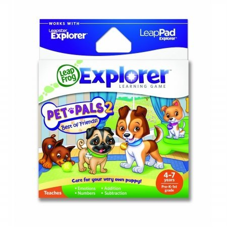 Leap Frog 39087 LeapPad Explorer Learning Game- Pet Pals 2