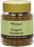 Whittard of Chelsea Elegant Hazelnut Flavoured Instant Coffee 75 g (Pack of 3)